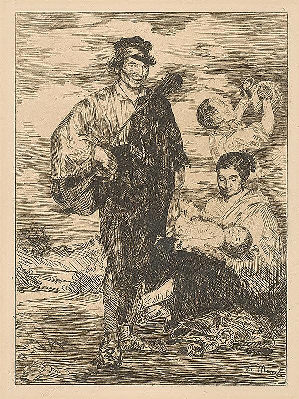 Edouard Manet – Cigáni