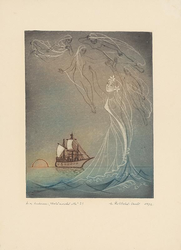 Mária Želibská – Víly a loď