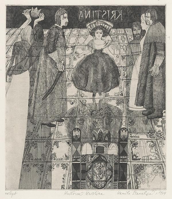 Kamila Štanclová – Kráľovná  Kristína