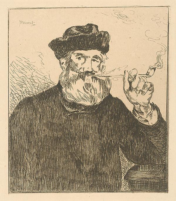 Edouard Manet – Fajčiar