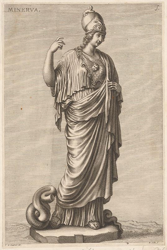 Richard Collin, Johann Jacob von Sandrart – Minerva