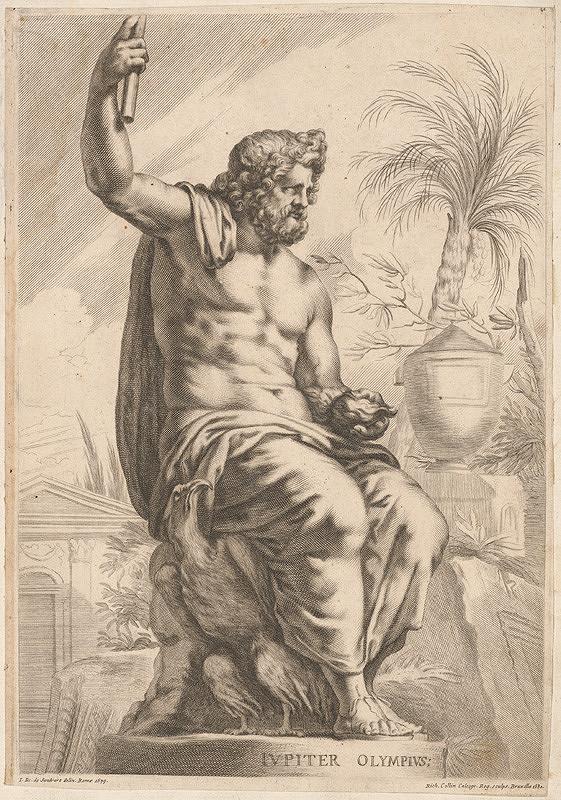 Richard Collin, Johann Jacob von Sandrart – Olympijský Jupiter