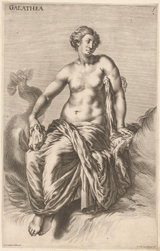 Richard Collin, Johann Jacob von Sandrart – Galathea