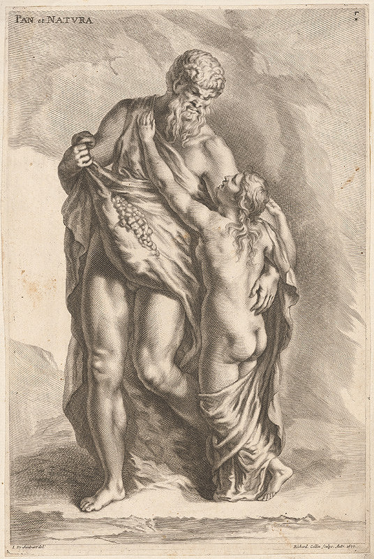 Richard Collin, Johann Jacob von Sandrart – Pan a Príroda