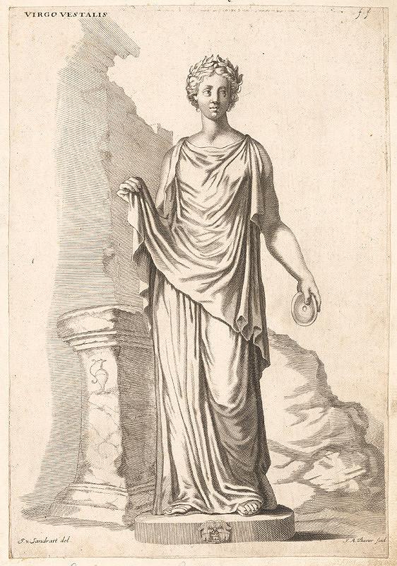 Joachim von Sandrart, Johann Alexander Böner – Vestálka