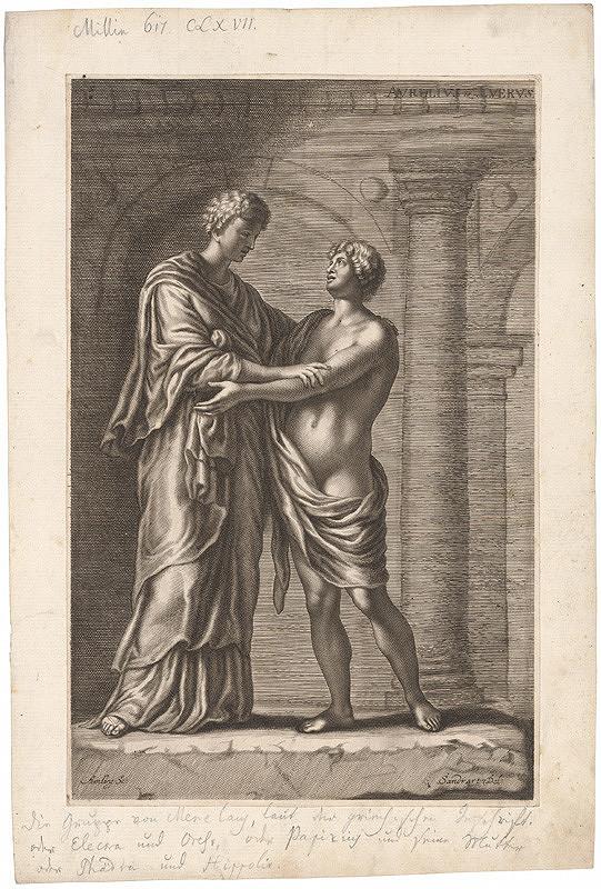 Karl Gustav von Amling, Jacob von Sandrart – Aurélius a Luerus
