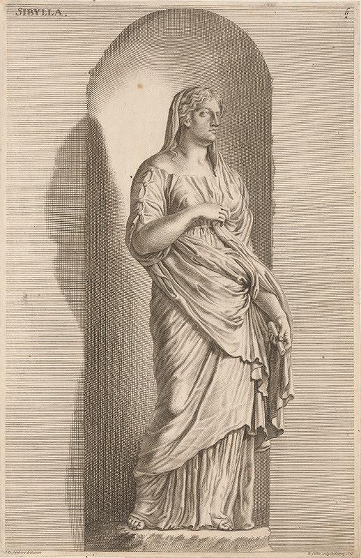 Richard Collin, Jacob von Sandrart – Sybilla