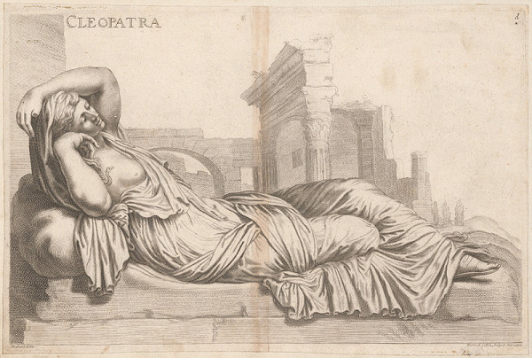 Richard Collin, Jacob von Sandrart - Kleopatra