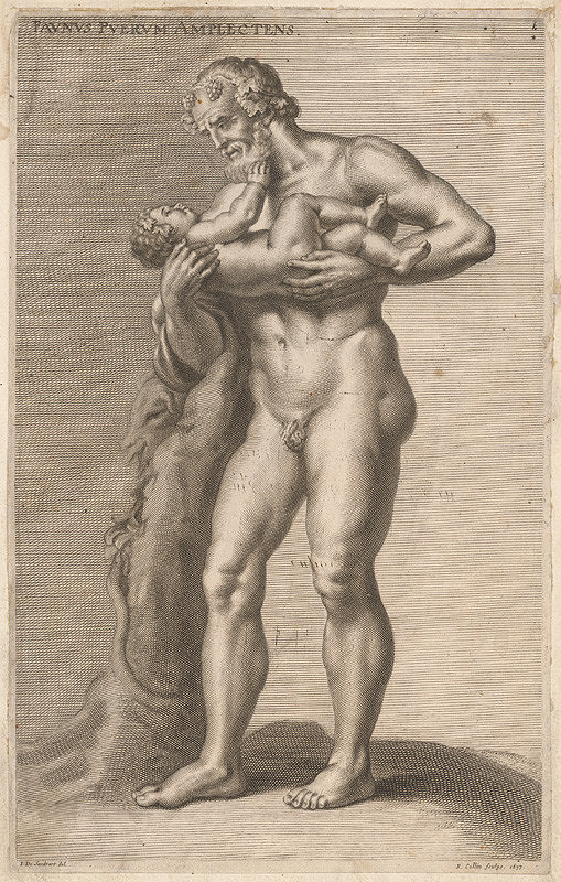 Richard Collin, Jacob von Sandrart – Faun s dieťaťom