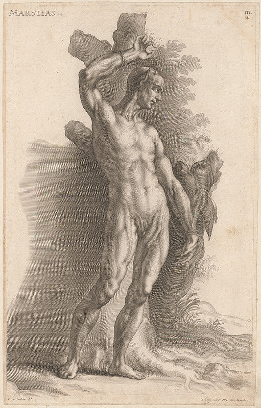 Richard Collin, Jacob von Sandrart - Marsiyas