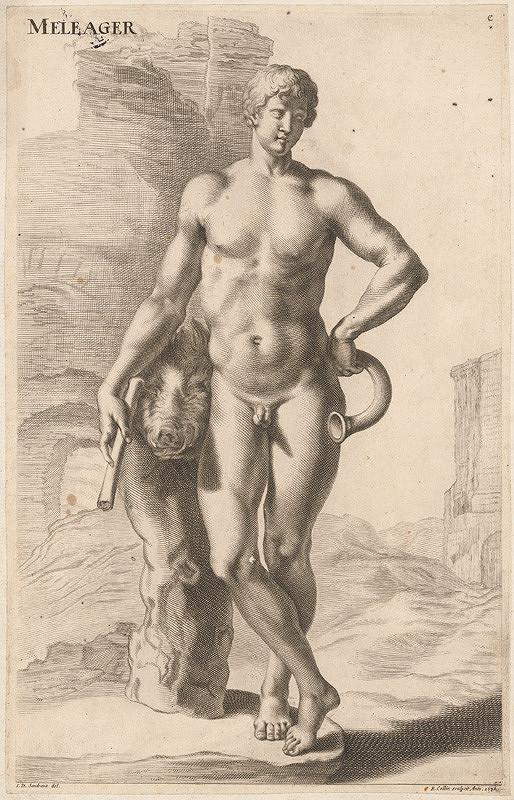 Richard Collin, Jacob von Sandrart – Meliager