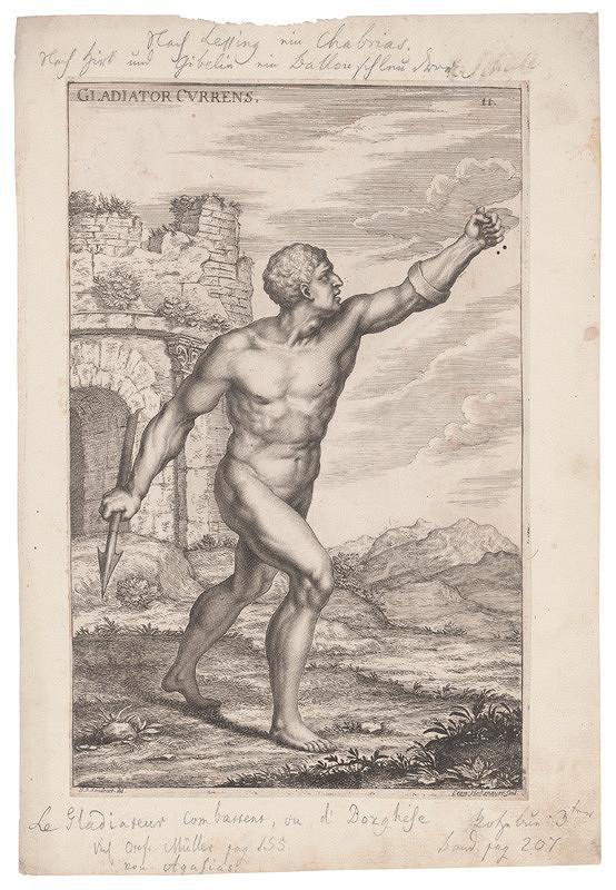 Leonard Heckenauer, Jacob von Sandrart – Gladiator Currens