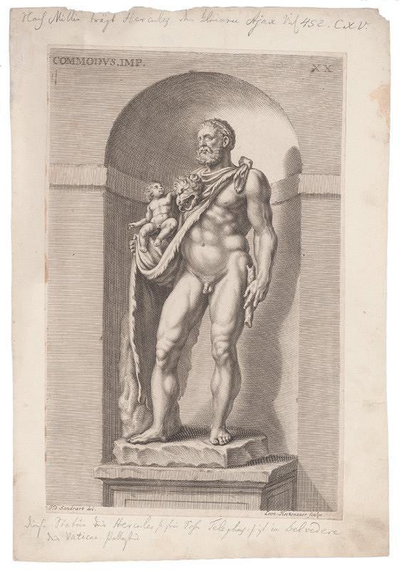 Leonard Heckenauer, Joachim von Sandrart – Cisár Commodus