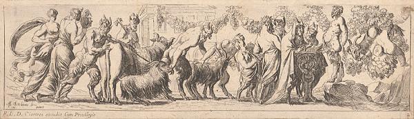 Pierre Brebiette - Slávnosť satyrov