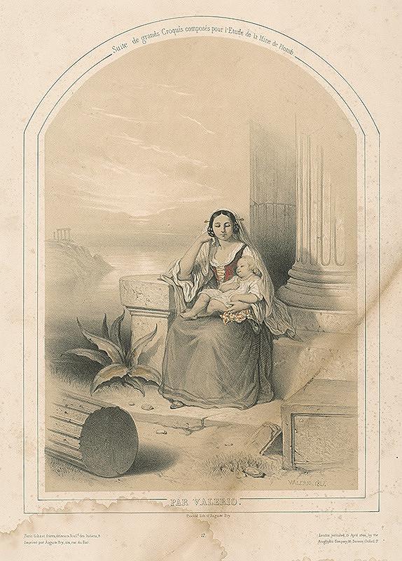 Théodore Valério – Matka s dieťaťom