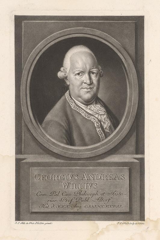 Johann Elias Haid, Johann Eberhard Ihle – Gregorius Andreas Willius