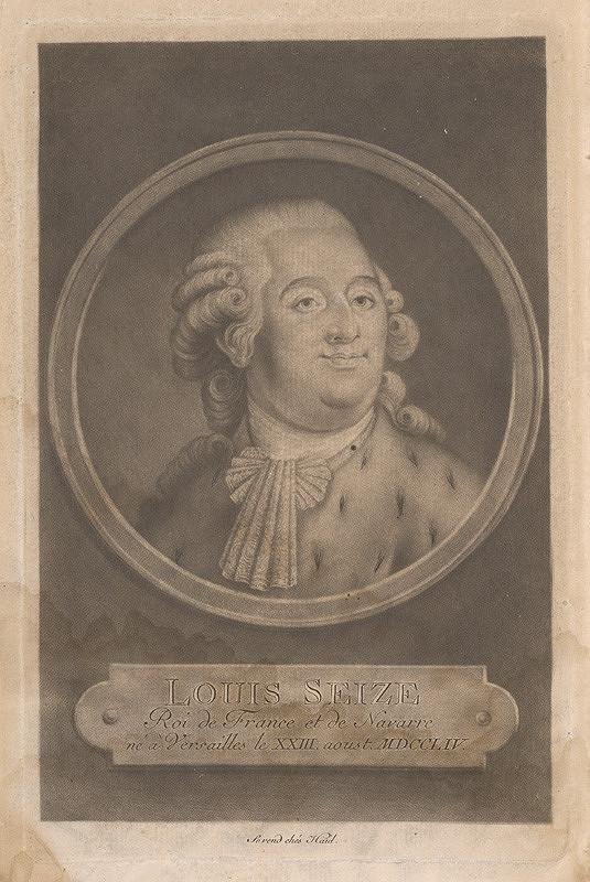 Johann Jacob Haid - Ľudovít XVI.