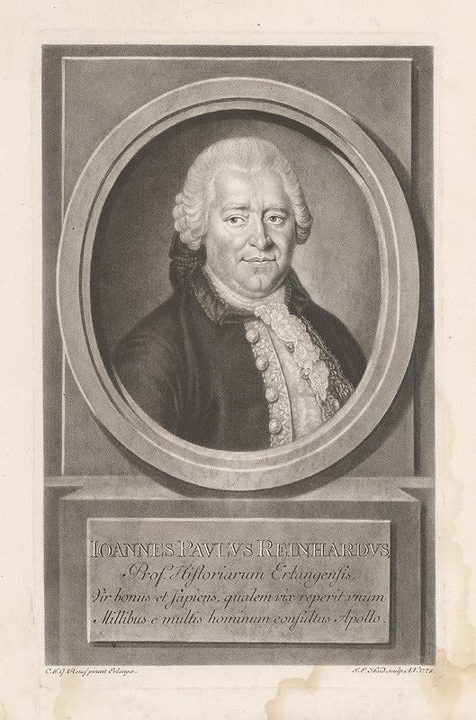 Johann Elias Haid, C.F.G. Reuss - Ioannes Paulus Reinhardus