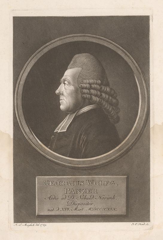 Johann Elias Haid, Andreas Leonhard Moeglich – Gregorius Wolfgang Panzer