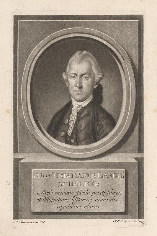 Johann Elias Haid, Johann Jacob Kleemann – Christian Daniel Schreber