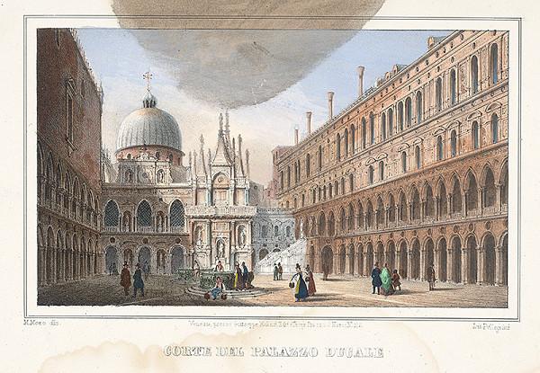 Alfréd Heinrich Pellegrini - Benátske námestie