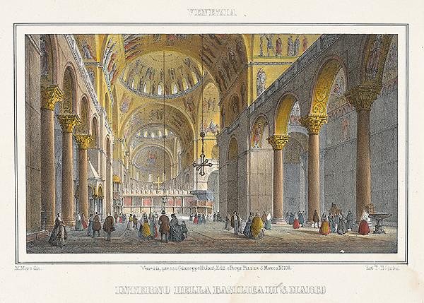 Alfréd Heinrich Pellegrini – Interiér chrámu sv.Marka