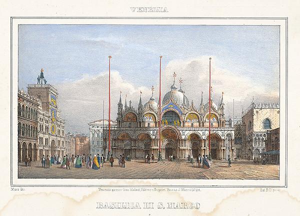 Alfréd Heinrich Pellegrini – Chrám sv.Marka v Benátkach