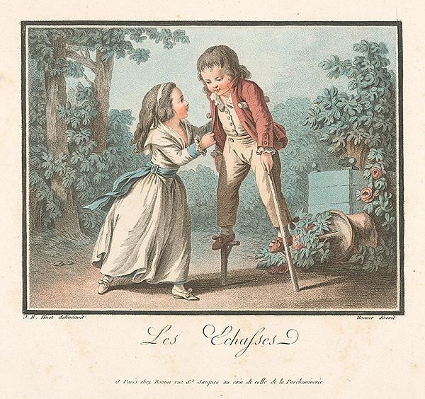 Jean Baptiste Huet, Louis Marin Bonnet – Na choduliach