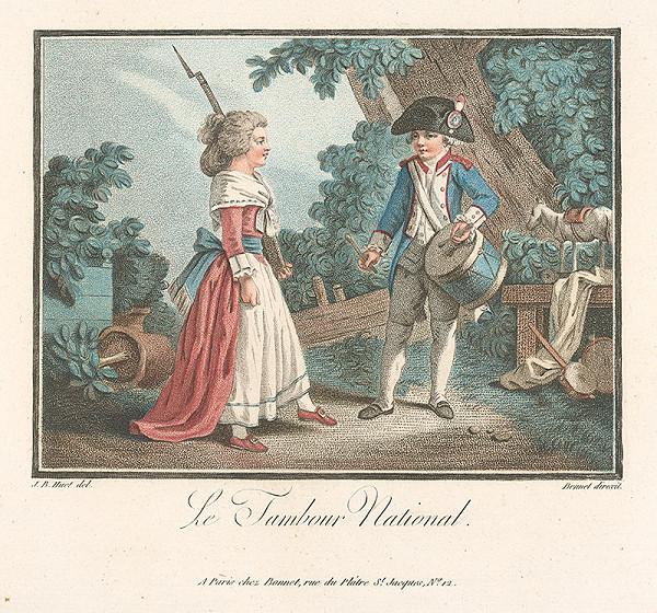 Jean Baptiste Huet, Louis Marin Bonnet – Národný bubeník