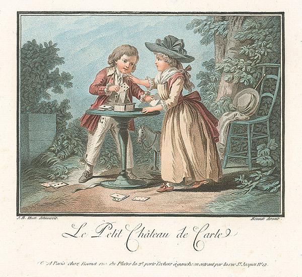 Jean Baptiste Huet, Louis Marin Bonnet – Malý hrad z karát