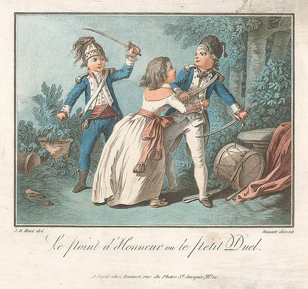 Jean Baptiste Huet, Louis Marin Bonnet – Otázka cti - alebo Malý súboj
