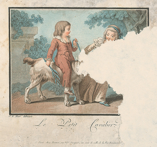 Jean Baptiste Huet, Louis Marin Bonnet - Malý gavalier