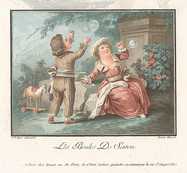 Jean Baptiste Huet, Louis Marin Bonnet - Mydlové bublinky