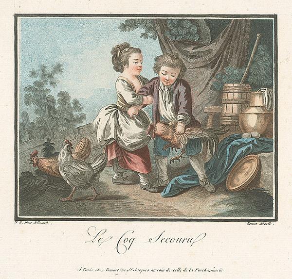 Jean Baptiste Huet, Louis Marin Bonnet – Rozzúrený kohút