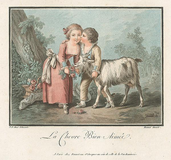 "Jean Baptiste Huet, Louis Marin Bonnet – Obľúbená kozička (""La Chevre Bien Aimée"")"