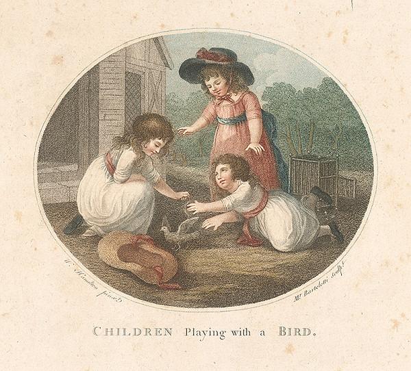 Francesco Bartolozzi, Cesare Bertolotti, Wiliam Hamilton – Deti hrajúce sa s vtákom