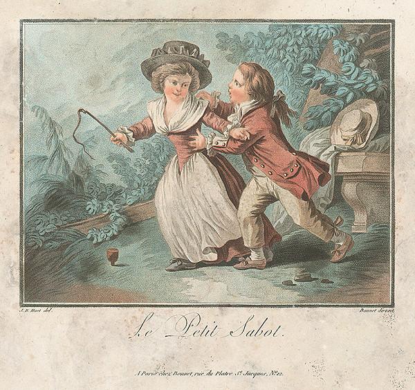 Jean Baptiste Huet, Louis Marin Bonnet – Malý bičík