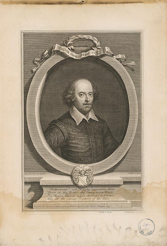 George Vertue – William Shakespeare