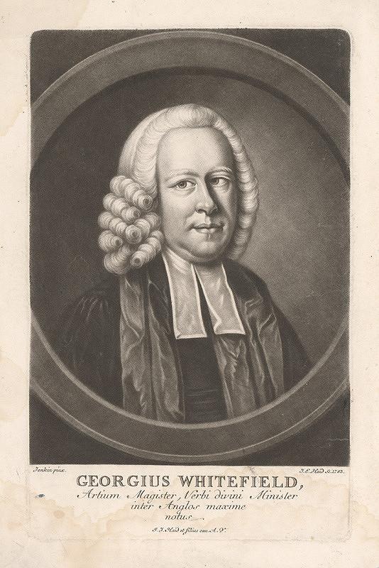 Johann Elias Haid, M. Jenkin – Georgius Whitefield