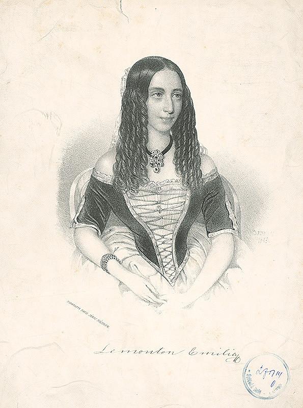 Miklós Barabás – Lemonton Emilie