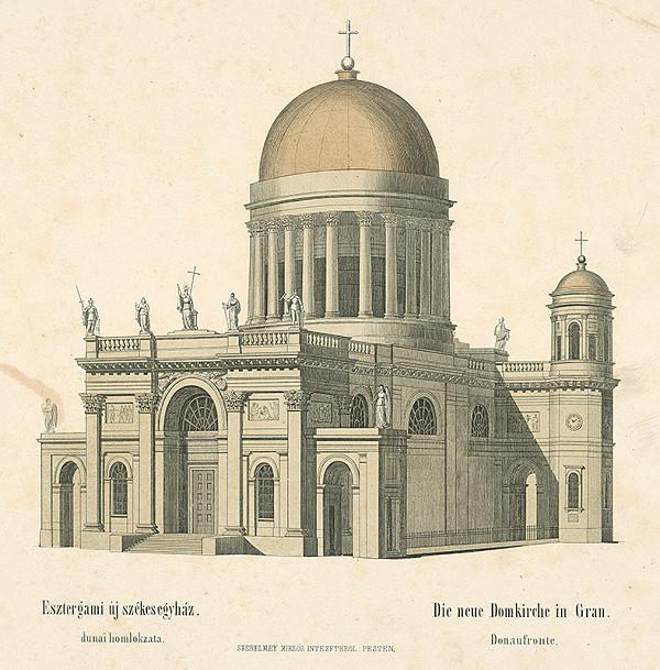 Stredoeurópsky autor z 19. storočia - Nová katedrála v Ostrihome