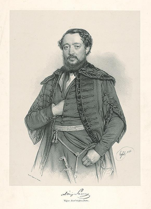 Adolf Eybel – Portrét muža
