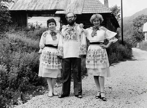 Július Koller – Univerzálne folkloristické originály (U.F.O.) - Čičmany