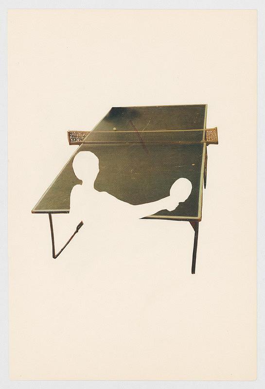 Július Koller – Bez názvu (Ping-pong)