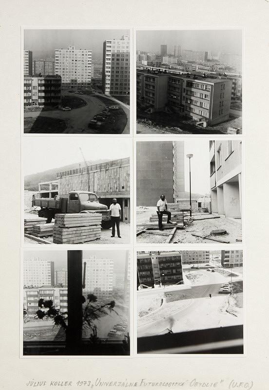 Július Koller – Univerzálne futurologické obydlie (U.F.O.)