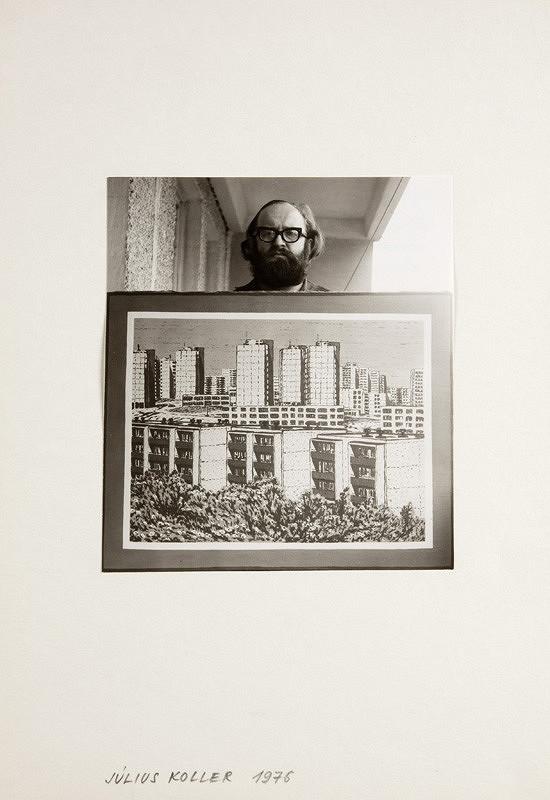 Július Koller – Július Koller 1976 (antihappening Akad. mal.)