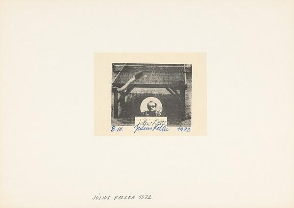 Július Koller – Archív JK/8.III.1972