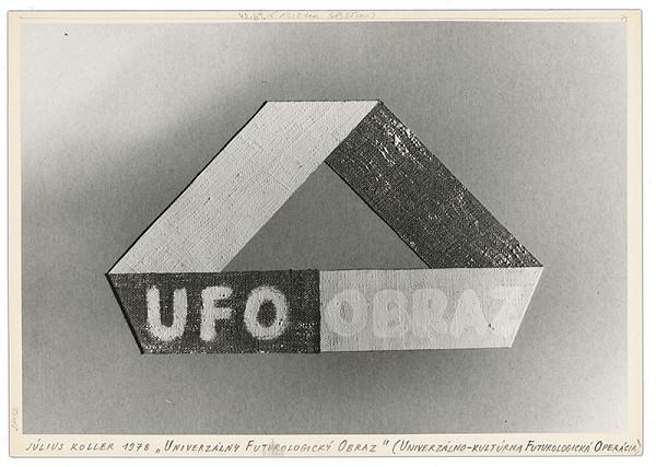 Július Koller – Archív JK/Univerzálny futurologický obraz
