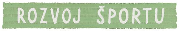 Július Koller – Archív JK/Rozvoj športu (popiska z výstavy Textilné obrazy)
