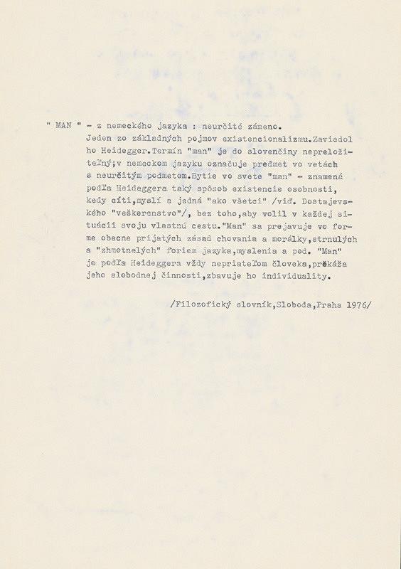 """Robert Cyprich – Archív JK/Robert Cyprich: """"Man"""" (definícia pojmu) ONE MAN SHOW? 15 000 000 """"MAN"""" SHOW!"""